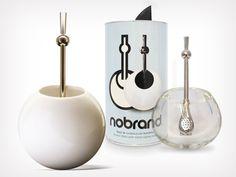Mate de cerámica o vidrio soplado de Nobrand, distinguido con el Sello de Buen Diseño 2012.