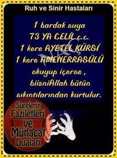 Ruh ve sinir hastalari icin edilecek dua Prayer for mental and nervous patients Love In Islam, Allah Islam, Sufi, Quran, Cool Words, Favorite Quotes, Prayers, Positivity, Sayings