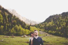 Séance Lifestyle Pyrénées : M&R au lac de Bious-Artigues.
