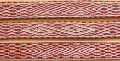 card/tablet weaving patterns