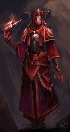 masked mage sorcerer wizard warlock