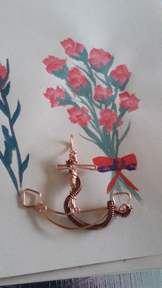 Copper wire anchor