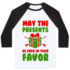 May the Presents be Ever in Your Favor. Pullover
