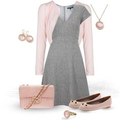 gray and pink - one of my favorite conbinations!  :)