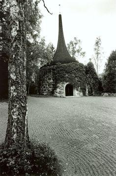 Nygrenska kapellet, Griftegården, Valdermarsvik - Sigurd Lewerentz, 1917