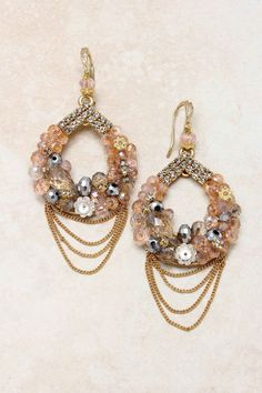 SO Pretty! Bought these Madeline Earrings on Emma Stine Limited & Love them