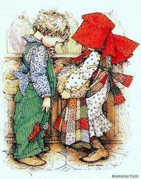 Holly  Hobbie (da: http://it.paperblog.com/holly-hobbievoglio-ancora-sognare-2075884/)