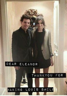 Thank you,no girl could ever make him smile the way he does when he looks at you @Eleanor Smith Smith Smith Smith Smith Smith Calder
