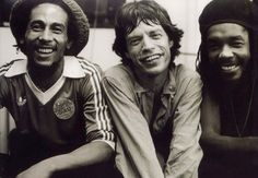 Roots Rock Reggae-- with Mick Jagger and Peter Tosh Official, 1978