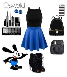 """""""Oswald the lucky rabbit"""" by crystalgems125 ❤ liked on Polyvore featuring Miss Selfridge, Givenchy, JustFab, Fuji, Butter London, NARS Cosmetics, Kenneth Cole, Michael Kors and Kate Spade"""