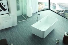 Experience the goodness of luxury bathing with the Jordan freestanding bathtub. Perfect lines. Luxury Bathtub, Interior, Closet Planning, Remodel, Free Standing Bath Tub, Bathroom, Bathrooms Remodel, Bathroom Design, Bathtub