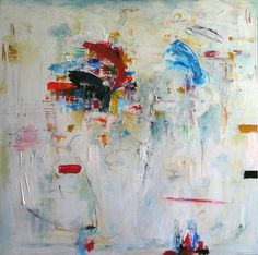 Abstract painting by Haydee Torres
