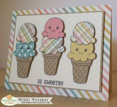 PK-1328 Yummies!: Peachy Keen Stamps