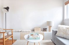 Using the magic of GIFs, see how different colors — pale, bold, warm or cold — change the look AND feel of a room.