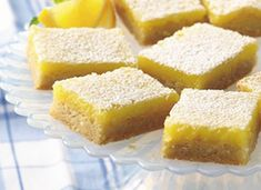 So-Easy Lemon Bars  Convenient refrigerated sugar cookies make quick work of homemade lemon bars. Lime or orange anyone?