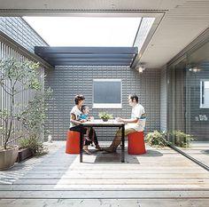Small Garden Design, Decks And Porches, Balcony, Lounge, Layout, House Design, Interior Design, Outdoor Decor, Home Decor