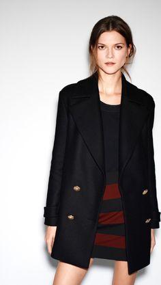 navy & red- classic (Kasia Struss for Zara December 2012)