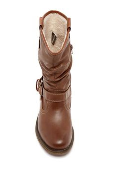 Bucco - Burneadette Faux Fur Lined Flat Boot at Nordstrom Rack. Free Shipping on orders over $100.