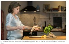 Fish consumption During Pregnancy May Reduce Risk of Dyslexia  - pinned by @PediaStaff – Please Visit  ht.ly/63sNt for all our ped therapy, school & special ed pins