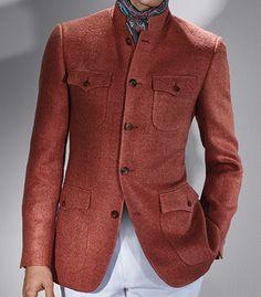 Farb- und Stilberatung mit www.farben-reich.com - Always Exceptional!! Paul Stuart Raw Silk Niven Jacket