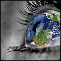 your world is in my eyes….