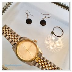 #Friday #details - #watch #ring #earrings #costumejewellery #jewelry #accessories #accessorize #fashion #fblogger #fashionista #instablog #bblogger #finerdetails #allthingsnice #flog #finery #pearlsandvagabonds