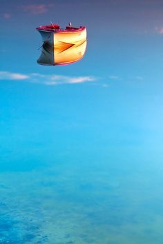 Onde termina o mar e começa o céu?  Pinterest de Cíça Mora, Brasil.