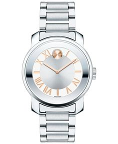 Movado Women's Swiss Bold Luxe Stainless Steel Bracelet Watch 32mm 3600244 - Watches - Jewelry & Watches - Macy's