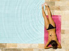 DONE! bikini by pool