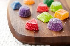 How cool is this?  Never thought about a recipe for gumdrops!