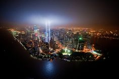 Tribute In Lights 9/11