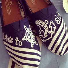 Naval Toms. The cutest I have seen so far