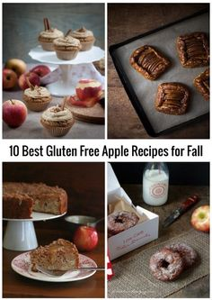 10 Best Gluten Free Apple Recipes for Fall - many of these delicious apple recipes are also, low carb, grain free, dairy free, egg free, and Paleo-friendly!