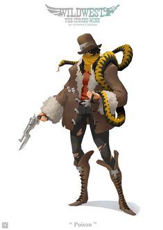 Character Concept, Character Art, Character Design, Concept Art, Western Theme, Western Cowboy, Westerns, Apocalypse Character, Dark Fantasy