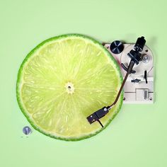 Acid!! Courtesy of @missfrancescarubino #turntable #lime #green #turntablism by jackleg_studio http://ift.tt/1HNGVsC