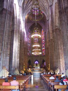 Interior del Templo Expiatorio, Guadalajara, Jalisco