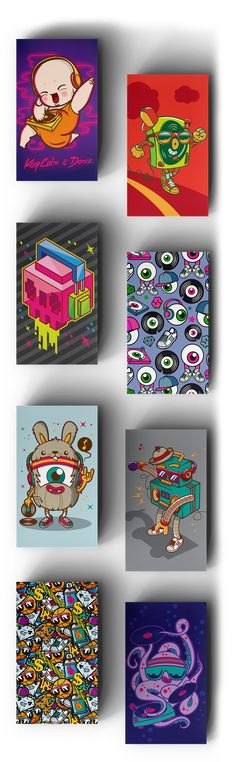 Get some attention off the DJ decks with today's Daily Freebie: 8 Stunning DJ Business Cards (PSD)