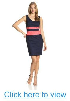 Anne Klein Women's Sheath Dress #Anne #Klein #Womens #Sheath #Dress