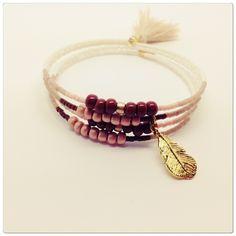 Nouveauté! Bracelet perles miyuki : Bracelet par mademoisellechipie