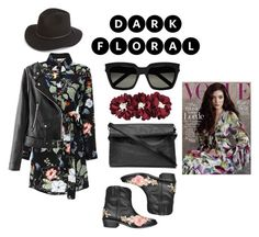 """""""Untitled #30"""" by flawsome32 ❤ liked on Polyvore featuring Amen, Yves Saint Laurent and Brixton"""
