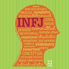 Check out this INFJ type head!  #INFJ #mbti myersbriggs