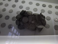 6200 coins from the treasure of Nuestra Señora de las Mercedes are now on view at the ARQUA museum in Cartagena