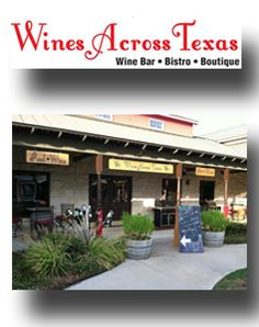 The largest selection of Texas wines,  fabulous musicians and beautiful artwork.  Old Oak Square - 309 Main Street - (830) 693-WINE  Open Mon-Wed 11-5  Sat 11-9  Great Texas Bottled Beer, Legendary Texas Wines,Fabulous Lunch & Dinner Fare, Beautiful Artwork & Gifts