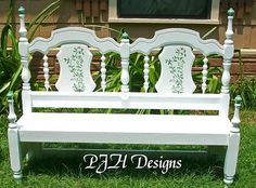 DIY: Dumpster Find to Beautiful Re-purposed Garden Or Porch bench.!