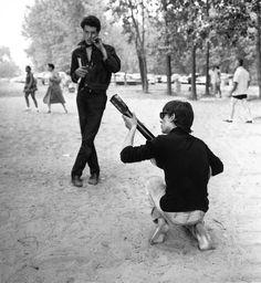 Beatniks, Larry Fink photography.