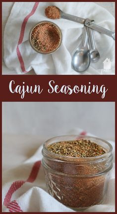 Mix up this simple Cajun Seasoning in just minutes to use in all your favorite Cajun recipes. Skip the fillers & MSG, and make your own!