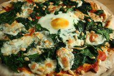 Pizza fiorentina - Tachos e Panelas