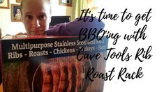 It's time to get BBQ'ing with Cave Tools Rib Roast Rack - Cherry On Top Crafts Perfect Grill, Ribs On Grill, Rib Roast, Roast Chicken, Cave, Grilling, Bbq, Cherry, Good Things