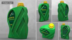 Can Form and on Behance Plastic Bottle Design, Plastic Bottles, Oil News, Bottle Packaging, Oil Bottle, Industrial Design, Packaging Design, Behance, Graphic Design