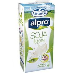 Leche de Soja Ligera Alpro Central Lechera Asturiana (Supersol) - 1 vaso 1,5 p